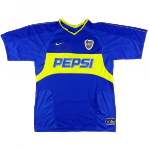 2003-04 Boca Juniors Maglia Home XL #7