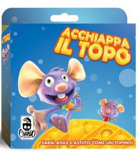ACCHIAPPA Il Topo-Gioco da Tavolo