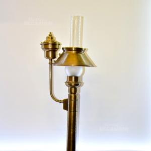 Lampada In Ottone Stile Vintage
