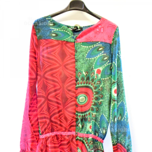 Camicia Donna Desigual Tg S Multicolor