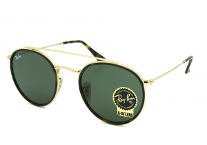 RAY BAN SOLE RB3647N 001 51-22 ROUND UNISEX METALLO