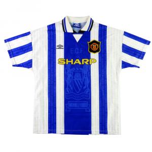 1994-96 Manchester United Maglia #7 Cantona Terza XL