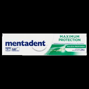 MENTADENT Maximum Protection Pulizia Profonda Dentifricio 75ml