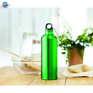 Borraccia in alluminio 750 ml - Disponibile solo Verde