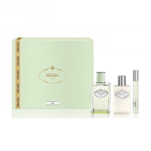 Prada Infusion d'Iris Eau De Parfum Spray 100ml Set 3 Parti 2019