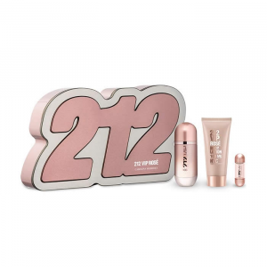 212 Vip Rosé Eau De Parfum Spray 50ml Set 3 Parti 2019