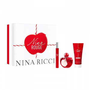 Nina Rouge Eau De Toilette Spray 50ml Set 3 Parti 2019
