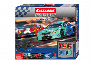 CARRERA DIGITAL 132 GT RACE STARS cod. 20030005