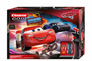 CARRERA GO!!! DISNEY PIXAR CARS - NEON NIGHTS cod. 20062477