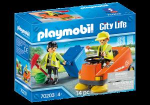 PLAYMOBIL PULIZIA STRADE 70203