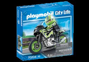 PLAYMOBIL MOTOCICLISTA 70204
