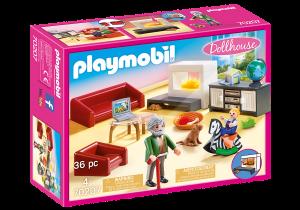PLAYMOBIL SOGGIORNO CON CAMINO 70207