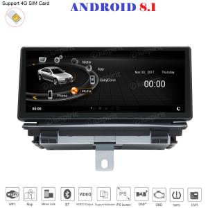 ANDROID monitor 8.8 navigatore per Audi Q3 2013-2018 GPS WI-FI Bluetooth MirrorLink 2GB RAM 32GB ROM 4G LTE