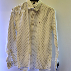 Camicia Uomo Tommy Hilfiger Pois Tg.M