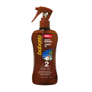 Babaria Coconut Tanning Oil Spray Spf2 300ml