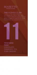 Tavoletta 11: Trinitario Perù pura origine
