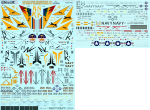 Colors and Markings of the US Navy Tomcats