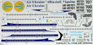 TU-154M AIR UKRAINE (2 VERSIONS)