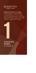 Tavoletta n°1: Cioccolato Bianco e Vaniglia