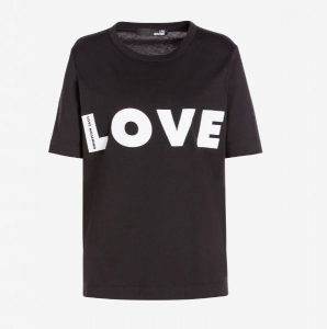 T-shirt Love Moschino Nera