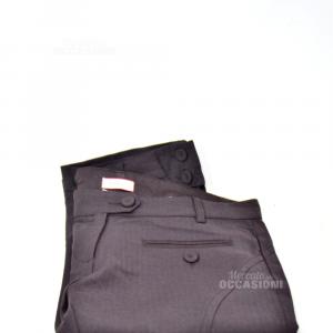 Pantaloni Donna Max&co Marroni Lana Tg 42