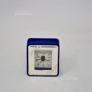 Mini Sveglia In Argento 7 Cm