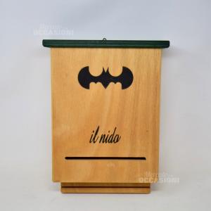 Porta Pipistrelli Di Batman Il Nido In Legno