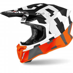 CASCO MOTO CROSS AIROH TWIST 2.0 2020 FRAME ORANGE MATT TW2F32