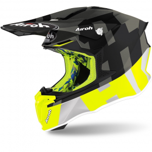 CASCO MOTO CROSS AIROH TWIST 2.0 2020 FRAME ANTHRACITE MATT TW2F21