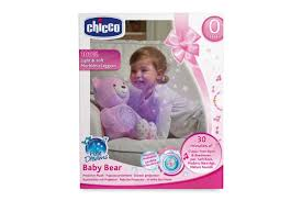 Orso Baby Bear First Dream rosa  con proiettore Chicco