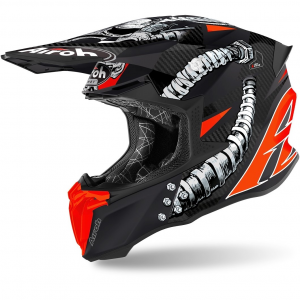 CASCO MOTO CROSS AIROH TWIST 2.0 2020 BOLT MATT TW2B35