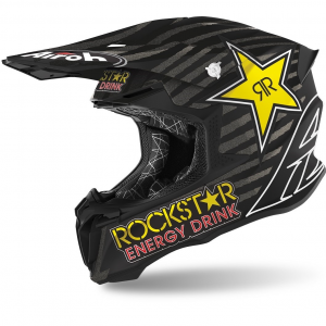 CASCO MOTO CROSS AIROH TWIST 2.0 2020 ROCKSTAR 2020 MATT TW2RK35