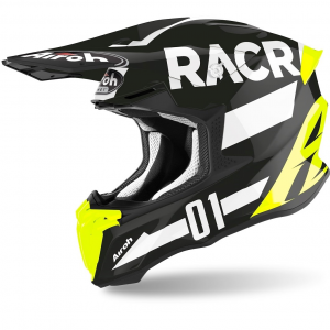 CASCO MOTO CROSS AIROH TWIST 2.0 2020 RACR GLOSS MATT TW2RA17