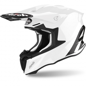 CASCO MOTO CROSS AIROH TWIST 2.0 2020 COLOR WHITE GLOSS TW214