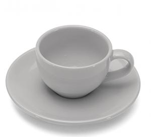 GIANNINI TAZZINA CAFFE' CON PIATTINO TORTORA COLOURS 27088