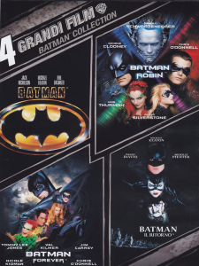 4 grandi film - Batman collection (dvd)