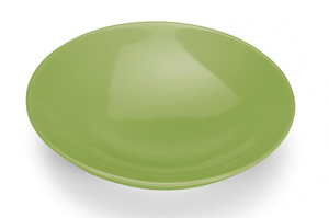 GIANNINI PIATTO FONDO VERDE GREEN COLOURS 24371