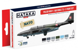 Polish Navy / Air Force TS-11 paint set