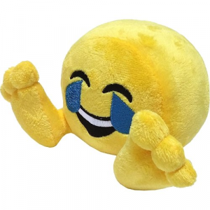 Peluche: Plushiez Emoji (11cm) Tears of Joy