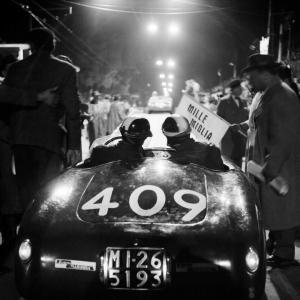 La Osca alla Mille Miglia, 1956