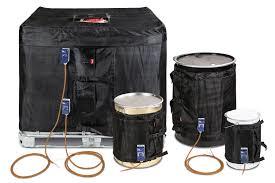 Scaldafusti  , da 25 lt a 1000  lt  coperte termosatiche  IBC