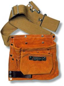 Mistral borsa da carpentiere in cuoio modello semplice art.114255