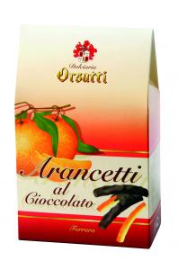 Arancetti al Cioccolato Fondente