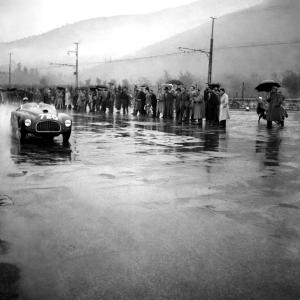 Ascari su Ferrari alla Mille Miglia, 1950