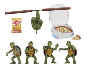 Teenage Mutant Ninja Turtles Action Figure 4-Pack 1/4 Baby Turtles