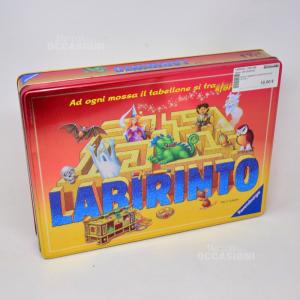 Gioco Labirinto Con Scatola In Latta