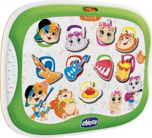 Tablet musicale 44 gatti per bambini dai 18 mesi /36 mesi Chicco