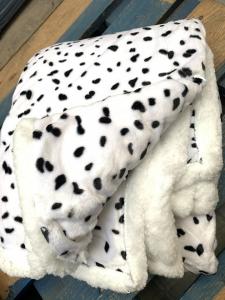 Coperta in morbida pelliccia