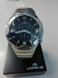 orologio loren crono swiss made nuovo mai indossato