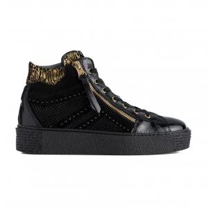 Sneaker alta nera Nero Giardini